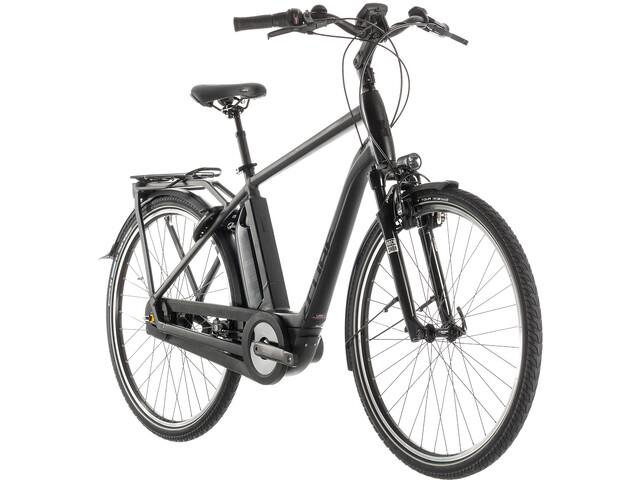 Cube Town Hybrid EXC 400 E-citybike sort (2019) | City-cykler